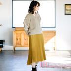 女性らしさ満点♡プリーツ・レーススカートで叶える大人ガーリースタイル