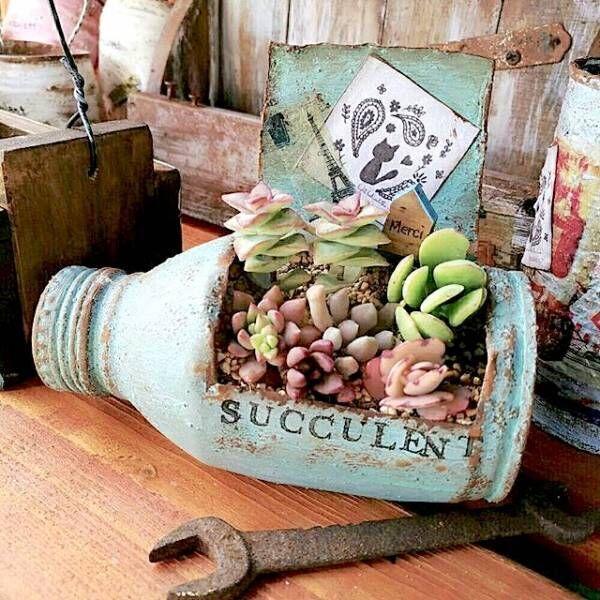 《多肉植物》の寄せ植えアイデア10選♡育てる楽しさも飾る楽しさも味わっちゃおう!