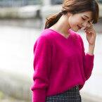 着映えするピンクを取り入れて可愛さ2割増し♡この冬GETしたいピンクのトップス15選