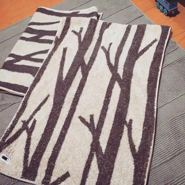 飾るように掛けておきたい「SCOPE」のタオル