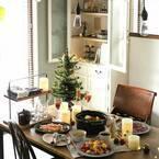 「クリスマスのテーブルシーン」を素敵に演出☆みなさんのアイデア集をご紹介