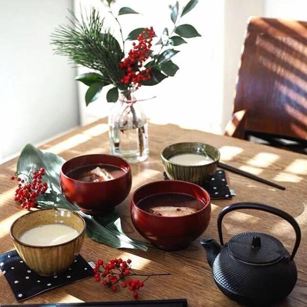 日常使いもおもてなしも!美しい漆器を食卓に取り入れてみよう♡