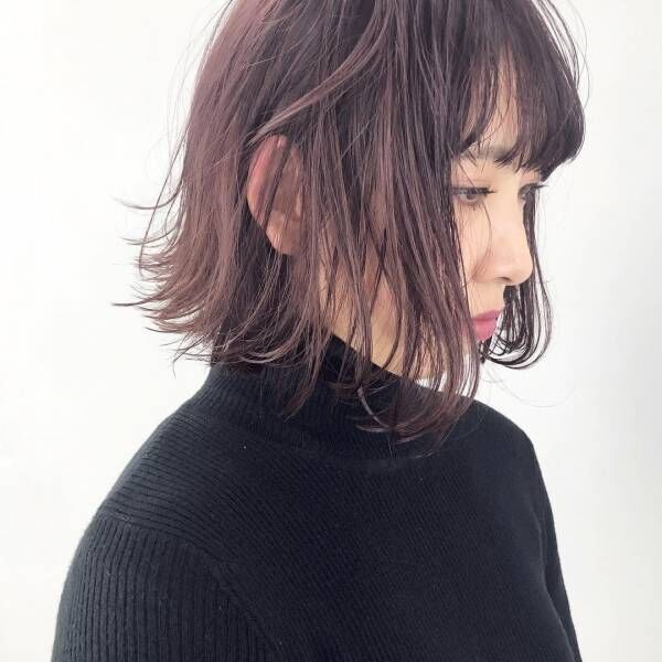 冬に気になる暖色系カラー♡今年注目の「ベリーカラー」ヘアスタイル特集