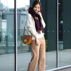 冬は「チェック柄」がかわいい♡スカートからアウターまでをご紹介!