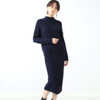 コーデの脱マンネリに!レトロな雰囲気で大人可愛い「ケーブル編みニットスカート」