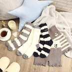 温かい足元を!【ダイソー・フレッツ・300均】のおしゃれな靴下&スリッパ