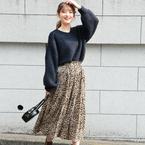 ALL7,000円以下!トレンドの「レオパード柄&チェック柄スカート」15選