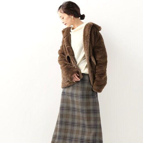 ファーコートコーデ特集♡ゴージャスでふわふわな主役コートを着こなそう