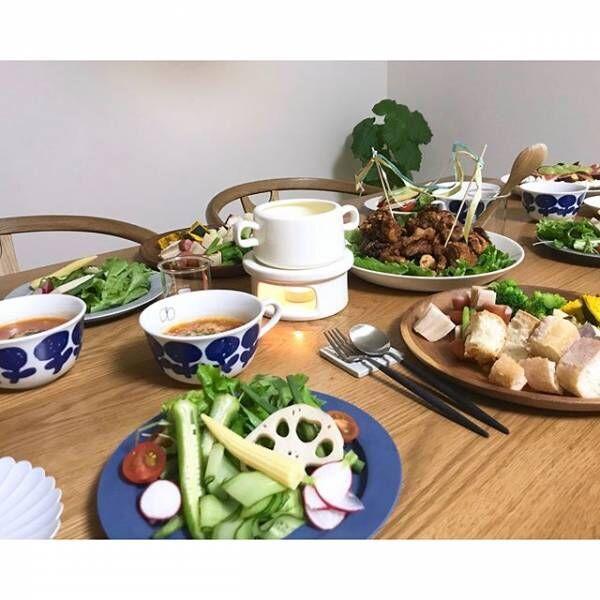 「ホームパーティー」のテーブルシーン&料理特集3