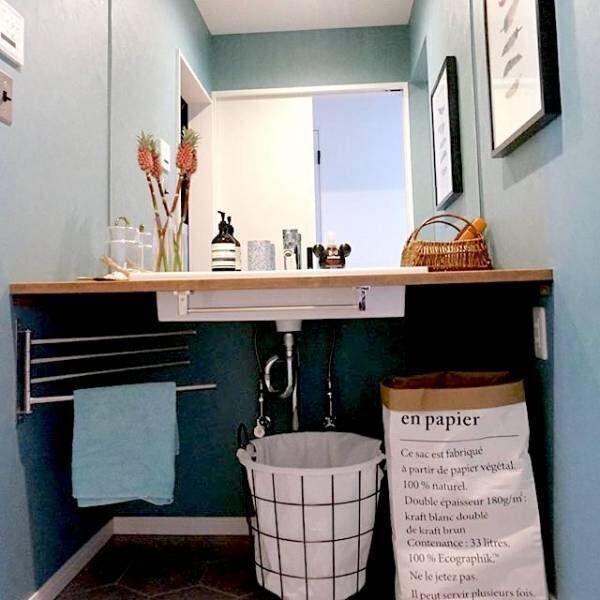 毎日使う場所こそオシャレに♡《サニタリールーム&トイレ》のこだわりインテリア特集