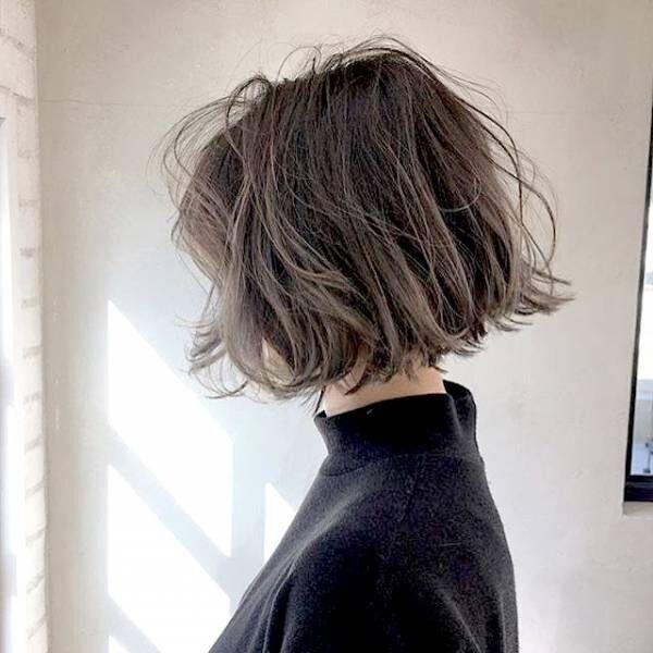 外国人のくせ毛風を実現できる なみなみウェーブで作る大人のヘア