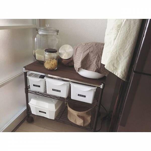 キッチン収納実例集☆使える100均アイテム&収納アイデアをご紹介!