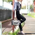 大人女性のための黒スキニーコーデ集☆何を合わせてもスッキリ可愛く着こなせる!