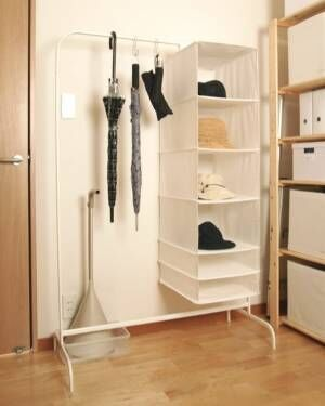IKEAのアイテムを使った収納術66選!きれいに整理整頓された空間を作ろう