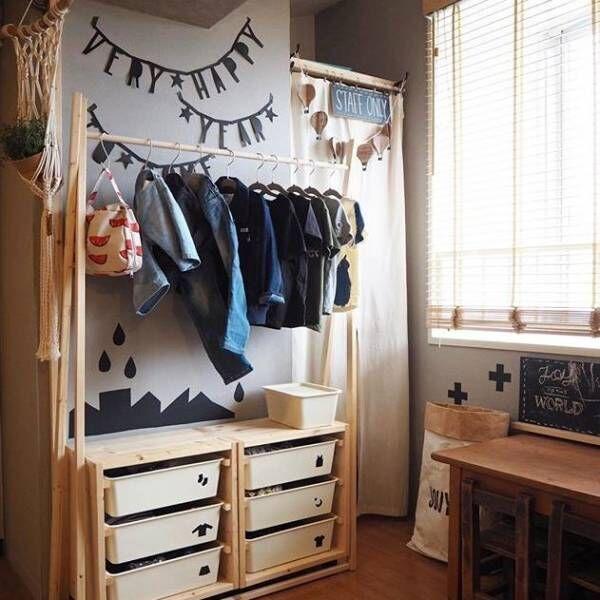 限られたスペースでも可愛く♪おしゃれな子供部屋&キッズスペース実例集