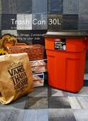 インテリアの主役にしたい♡掃除や片付けが楽しくなる、おしゃれすぎるゴミ箱!