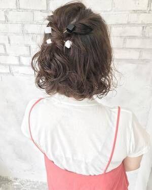 結婚式にぴったり!ハーフアップを使ったパーティー用髪型をレングス別にご紹介☆