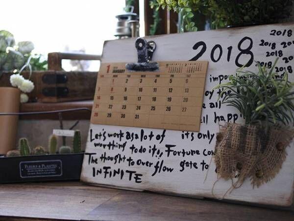 カレンダーDIYも!おしゃれなカレンダー&飾り方をご紹介♪