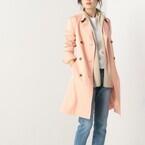 オンもオフもピンクが使える♪大人可愛いピンクの春コート特集!