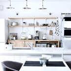 4つの素材で素敵なキッチンに♪ナチュラルシックなキッチンのすすめ☆