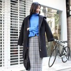 冬定番のチェック柄♡チェックスカートを使った大人女子コーデ10選
