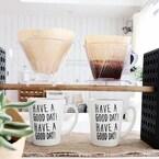 お家で楽しむカフェ空間♡コーヒーアイテムでおしゃれな演出を