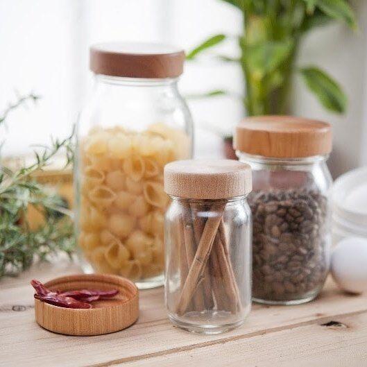 食材の保存に☆たくさん並べて飾っておきたくなるおすすめ保存容器のご紹介
