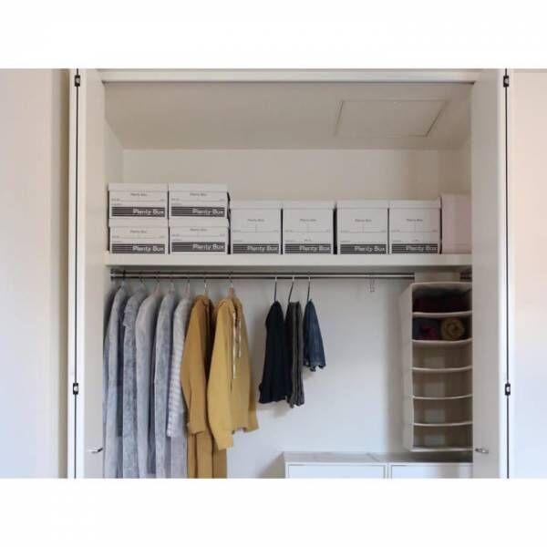 ワンルーム収納の決め手☆「衣類収納」に役立つアイテム&収納術32選!