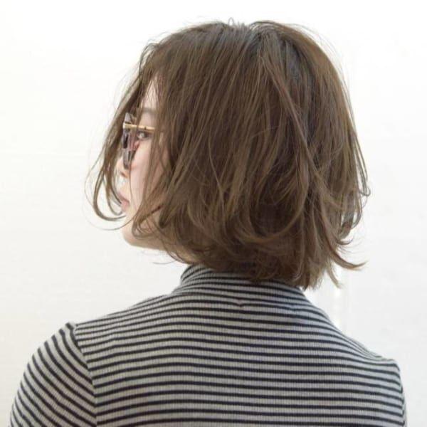 春も人気のボブ♡毛先のほつれ感が可愛い!ニュアンスのあるカールはいかが?