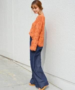 ビビッドアイテムで季節感を♪華やかなオレンジアイテムで春の大人女子コーデを叶えよう♡