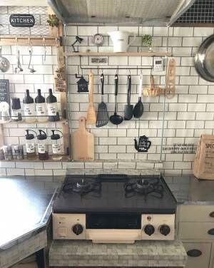 毎日使うからこそ使いやすい収納にしよう!キッチンの収納アイディア8選