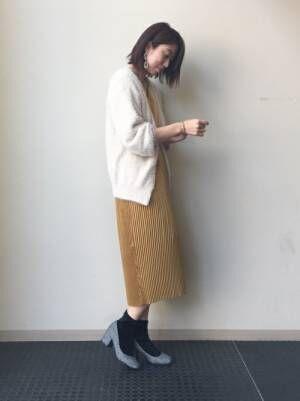 さらっと1枚で着て爽やかに♪プリーツワンピで作る大人女子コーデまとめ♡