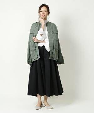 春はスカートスタイルが可愛い季節☆スカートの着回しコーデ集♪