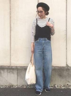 ボーダーコーデ50選!2018年春におすすめの〝今っぽ〟な着こなし術♡