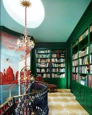 海外インテリアに学ぶ、本をおしゃれに見せる収納術♡素敵な本棚15選