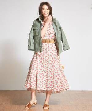軽い着心地で春にもピッタリの《ミリタリージャケット》♡上手な着こなしまとめ