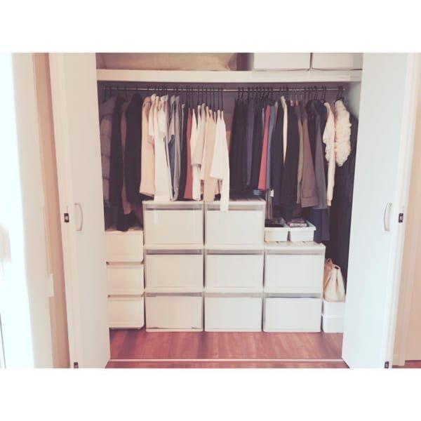 衣類収納のお悩み解決!クローゼットを整理して無駄を減らそう
