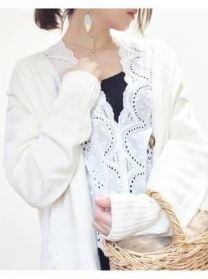 【ユニクロ】のカーディガン&パーカーで作る☆大人女子の褒められ春コーデ!