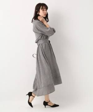 【ドットorギンガムチェック】春に着たいのはどっち?まずは着こなしを予習☆