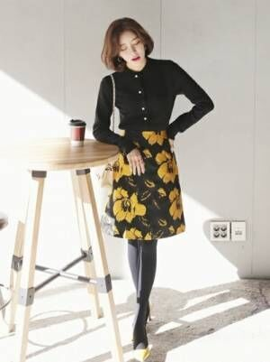 注目の韓国ファッション♡《DHOLIC》の春コーデ特集♡15選