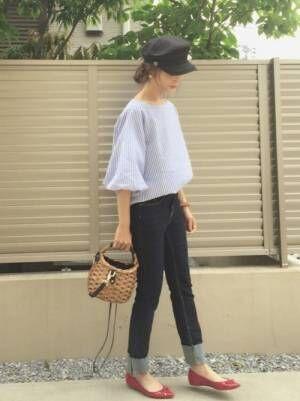 キャスケット帽でマリンっぽく♪キャスケット帽に似合うコーデを考えよう!