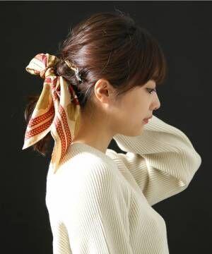 春の人気小物「スカーフ」♡スカーフ使いをマスターしてコーデのワンポイントに♪