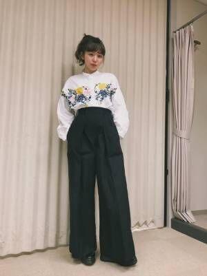 何枚でも欲しくなる!【GU&ZARA】のシャツ・ブラウスを使った春コーデ集☆