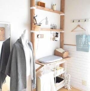 【ラブリコ】で壁が収納に!賃貸じゃなくても真似したい素敵アイデア集