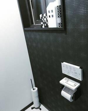 ナチュラル&モダンを取り入れて。簡単アイデアでおしゃれなトイレを実現!