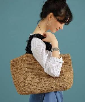 春を詰め込んでおでかけ♡大人かわいいかごバッグが欲しい!