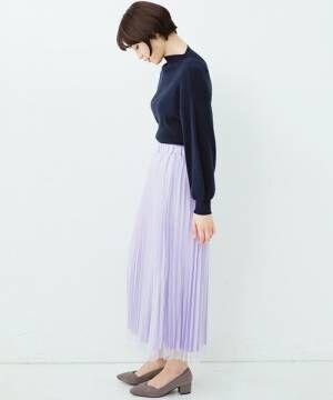 透け感を楽しむチュール&レーススカート!ふんわり優しいシルエット美人♡