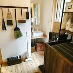 お掃除道具もインテリアの一部に♪素敵アイテムで魅せながら使い勝手のいい収納☆