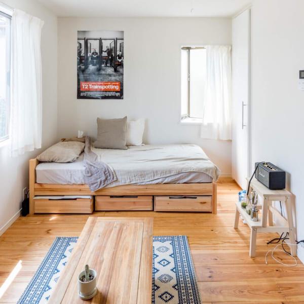お部屋広々でスッキリ気持ち良い◎ソファのない暮らし始めませんか?