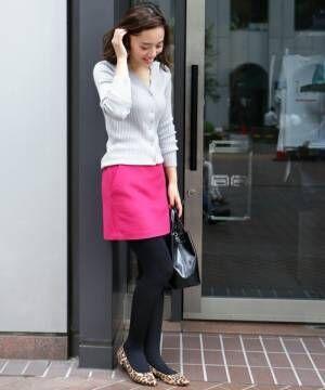 膝上スカートも大人っぽく着こなしたい!大人女子のミニスカ講座☆